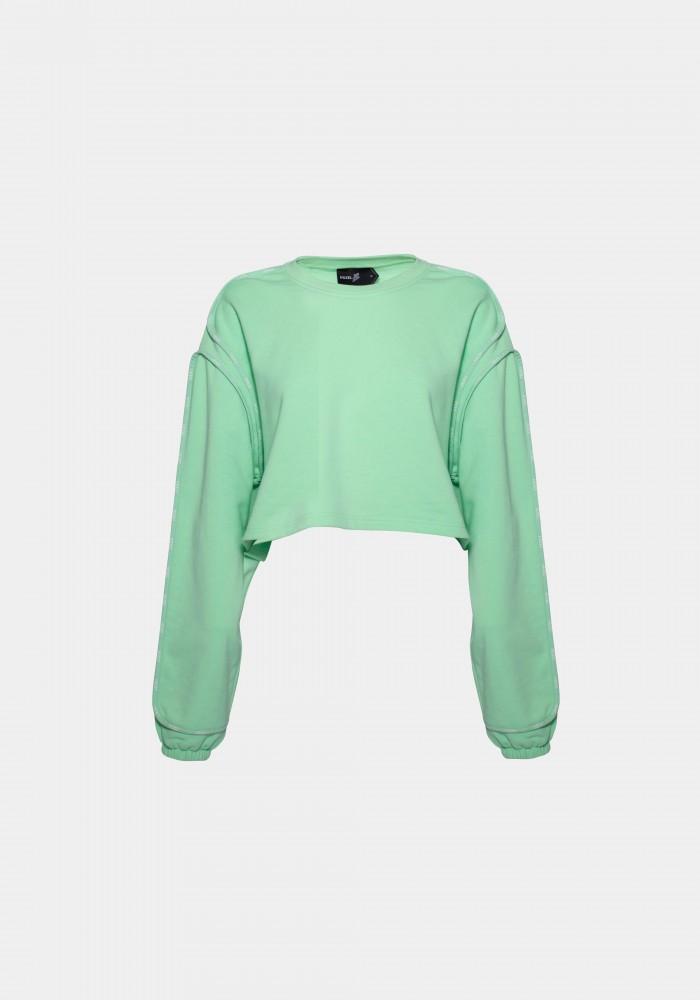 Basic Crop Sweatshirt