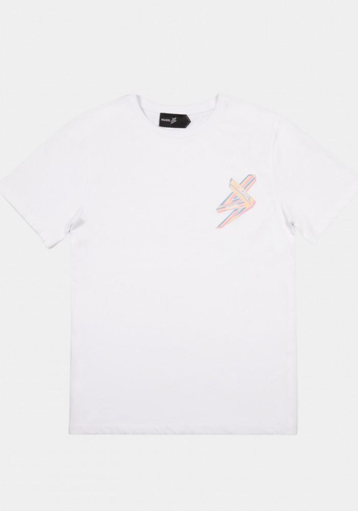 Beyaz Baskılı Regular T-shirt