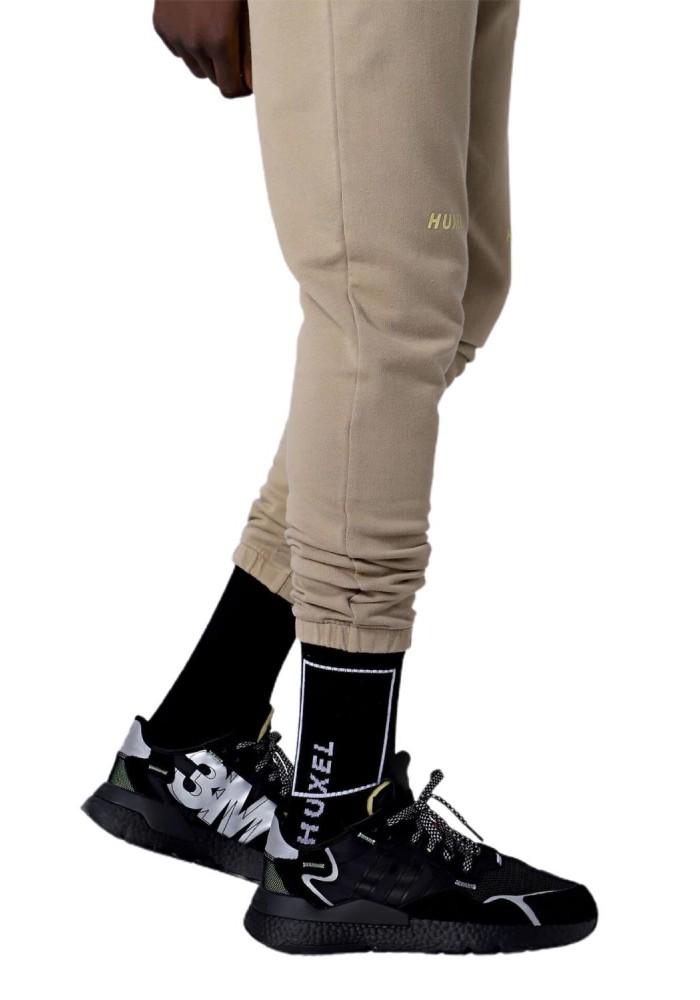 Fitilli Huxel Detaylı Çorap