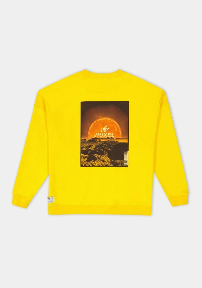 Glam Street Sarı Sweatshirt