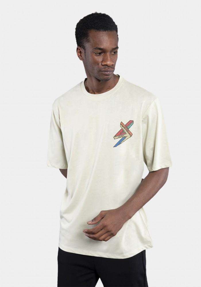 Haki Baskılı Oversize T-shirt