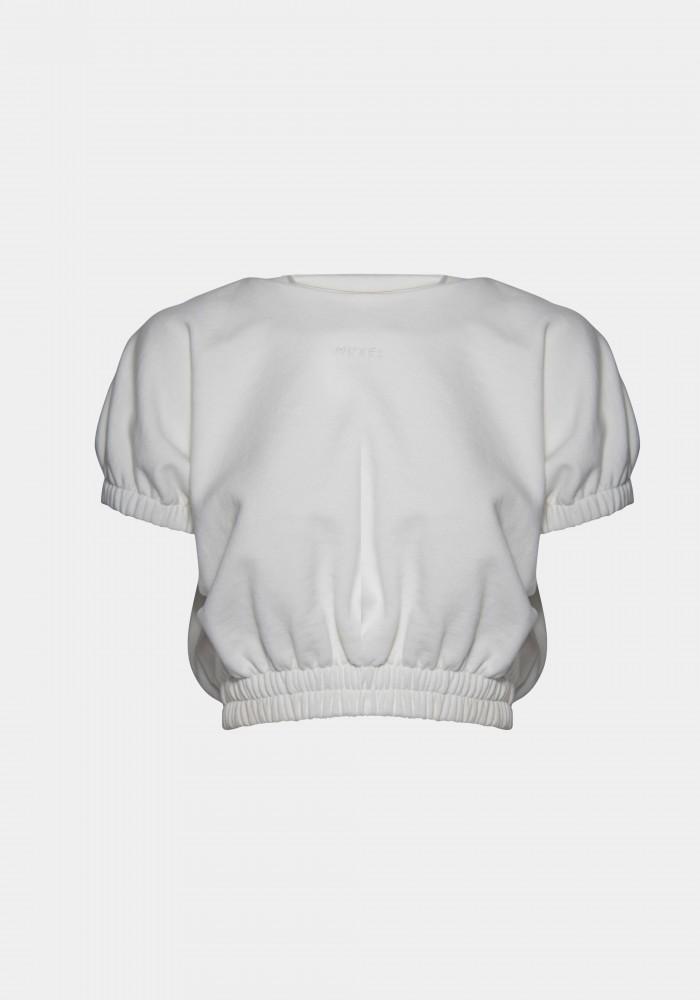 Huxel Nakış Detaylı Basic Sweatshirt