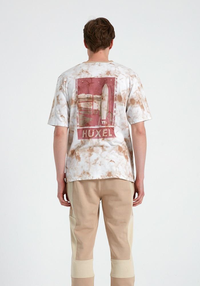Natural Touch Kahverengi Batik T-Shirt