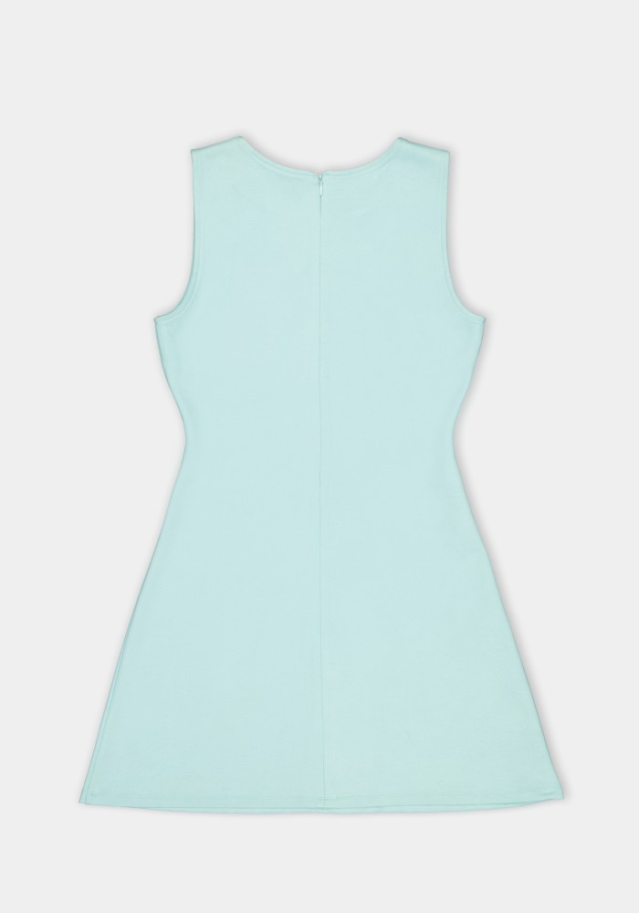 Natural Touch Mint Baskılı Elbise