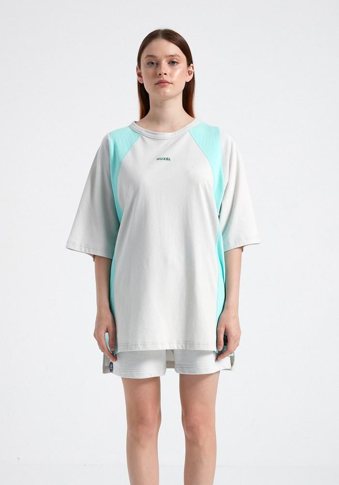 Natural Touch Mint Beyaz T-Shirt