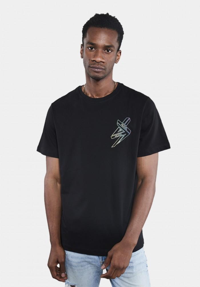 Siyah Baskılı Regular T-shirt