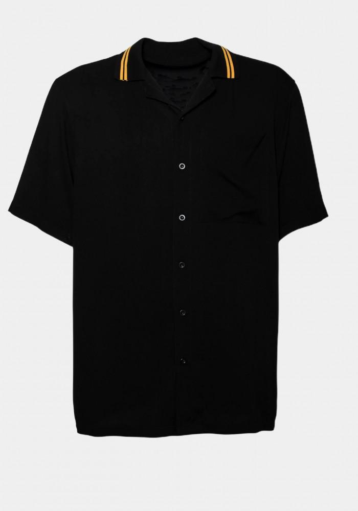 Yaka Detaylı Belmondo Gömlek